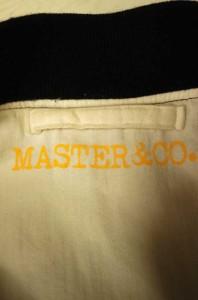 マスターアンドコー master & co. ミリタリージャケット サイズ表記無 メンズ 【中古】【ブランド古着バズストア】