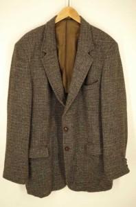 ハリスツイード Harris Tweed テーラードジャケット サイズ46L メンズ 【中古】【ブランド古着バズストア】