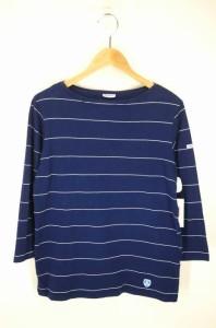 オーチバル ORCIVAL ボートネックTシャツ サイズJPN:2 メンズ 【中古】【ブランド古着バズストア】
