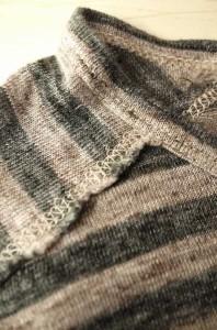 Needles(ニードルス) ボーダー柄ポケットリネンTシャツ サイズ[M] メンズ Tシャツ・カットソー 【中古】【ブランド古着バズストア】【130