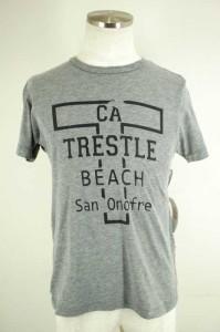 THE DAY ON THE BEACH(ザデイオンザビーチ) クルーネックTシャツ サイズM メンズ 【中古】【ブランド古着バズストア】