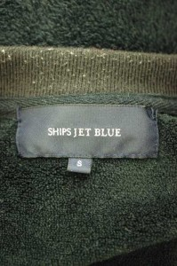 SHIPS JET BLUE(シップスジェットブルー) フリース サイズ[S] メンズ スウェット・トレーナー 【中古】【ブランド古着バズストア】【1510