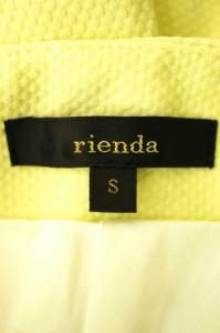 rienda(リエンダ) 15SS ショートパンツ サイズ[S] レディース パンツ 【中古】【ブランド古着バズストア】【290417】