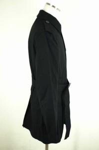 ジェイリンドバーグ J.LINDEBERG ステンカラーコート サイズ46 メンズ 【中古】【ブランド古着バズストア】