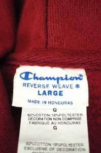 Champion(チャンピオン) reverse weave サイズ[L] メンズ プルオーバーパーカー 【中古】【ブランド古着バズストア】【100118】