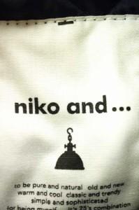 ニコアンド Niko and... キルティングジャケット サイズ表記無 レディース 【中古】【ブランド古着バズストア】