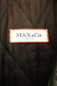 MAX & CO.(マックスアンドコー) シングル サイズ[44] レディース レザージャケット 【中古】【ブランド古着バズストア】【211017】