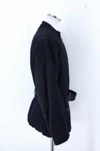 Martin Margiela(マルタンマルジェラ) 10 バンドカラーエルボーパッチ中綿ジップジャケット サイズ[44] メンズ ジャケット 【中古】【ブ