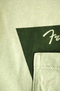 LAD MUSICIAN × FENDER(ラッド ミュージシャンフェンダー) ロゴプリントポケットTシャツ サイズ[46] メンズ UネックTシャツ 【中古】【