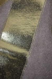 LAD MUSICIAN × FENDER(ラッド ミュージシャンフェンダー) ビッグロゴプリントTシャツ サイズ[44] メンズ クルーネックTシャツ 【中古】