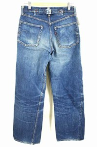 SUGAR CANE(シュガーケーン) シンチバック ボタンフライ 5ポケット サイズ[表記無] メンズ デニムパンツ 【中古】【ブランド古着バズスト