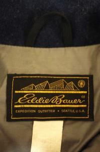 Eddie Bauer(エディーバウアー) 黒タグ前期 フルジップウール サイズ[S] メンズ ジャケット 【中古】【ブランド古着バズストア】【09021