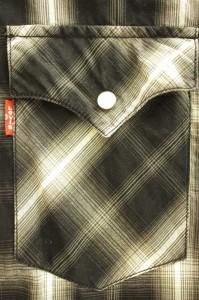 リーバイスレッドタブ Levi's RED TAB ウエスタンシャツ サイズJPN:M メンズ 【中古】【ブランド古着バズストア】