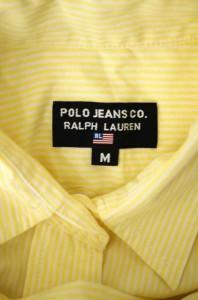 POLO JEANS COMPANY RALPH LAUREN(ポロジーンズカンパニーラルフローレン) ストライプ柄ポケット付ボタンシャツ サイズ[M] レディース シ