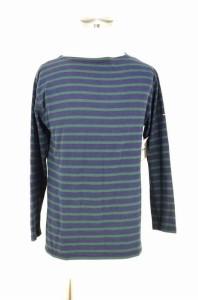 セントジェームス SAINT JAMES ボートネックTシャツ サイズF4 USA38 メンズ 【中古】【ブランド古着バズストア】