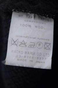 WACKO MARIA(ワコマリア) ウールニットキャップ ワッチキャップ サイズ[表記無] メンズ キャップ帽子 【中古】【ブランド古着バズストア