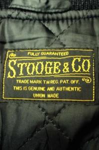 ストーギー STOOGE&CO スタジャン サイズS メンズ 【中古】【ブランド古着バズストア】