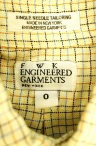 エフダブリューケーエンジニアードガーメンツ FWK engineered garments シャツ・ブラウス サイズ0 レディース 【中古】【ブランド古着バ