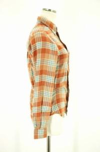 インディヴィジュアライズドシャツ individualized shirts ネルシャツ サイズ30 レディース 【中古】【ブランド古着バズストア】