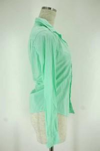 Frank & Eileen(フランクアンドアイリーン) オープンカラーシャツ サイズ[XXS] レディース シャツ 【中古】【ブランド古着バズストア】【