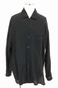 Yohji Yamamoto POUR HOMME(ヨウジヤマモトプールオム) リネンビッグシルエットシャツ サイズ[3] メンズ シャツ 【中古】【ブランド古着