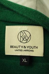 BEAUTY & YOUTH UNITED ARROWS(ビューティーアンドユースユナイテッドアローズ) コットン サイズ[XL] メンズ カーディガン 【中古】【ブ
