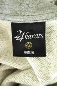 24karats(24カラッツ) プリント サイズ[M] メンズ プルオーバーパーカー 【中古】【ブランド古着バズストア】【270917】