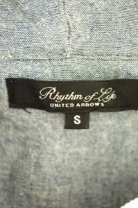 Rhythm of Life UNITED ARROWS(リズムオブライフユナイテッドアローズ) ジップアップパーカー サイズ[S] レディース ジップアップパーカ