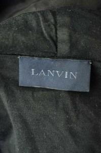 ランバン LANVIN ジップアップパーカー サイズXS メンズ 【中古】【ブランド古着バズストア】