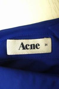 アクネ Acne シャツ サイズ34 レディース 【中古】【ブランド古着バズストア】