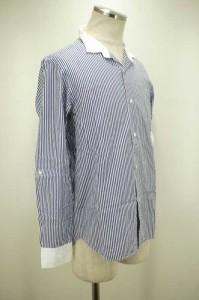 エディフィス EDIFICE ワークシャツ サイズ40 メンズ 【中古】【ブランド古着バズストア】