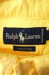 ラルフローレン RALPH LAUREN ワークシャツ サイズ14 1/2-32 メンズ 【中古】【ブランド古着バズストア】