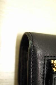 ANYA HINDMARCH(アニヤハインドマーチ) CARKER WALLET 二つ折りレザーウォレット サイズ[表記無] レディース 二つ折り財布 【中古】【ブ