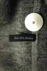 Kei shirahata(ケイシラハタ) 紐ベルト付き ノースリーブウールロング サイズ[F] レディース べスト 【中古】【ブランド古着バズストア