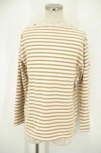 セントジェームス SAINT JAMES ボートネックTシャツ サイズF5 GB/USA 40 NL/D 50 メンズ 【中古】【ブランド古着バズストア】