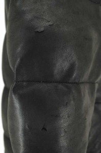 AVIREX(アヴィレックス) ラムレザーダウンンジャケット サイズ[L] メンズ レザージャケット 【中古】【ブランド古着バズストア】【160817