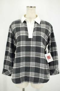 グッドイナフ 079759 【中古】 FINESSE GOODENOUGH フィネス タータンチェック ラインネルシャツ 「M」