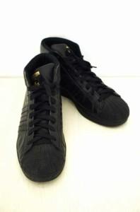 adidas(アディダス) Pro Model Trainers ハイカットスニーカー サイズ[US11 1/2] メンズ スニーカー 【中古】【ブランド古着バズストア】