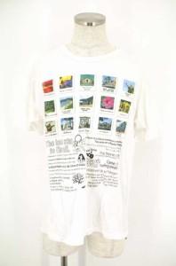 THE DAY ON THE BEACH(ザデイオンザビーチ) プリントTシャツ サイズ[LARGE] メンズ Tシャツ・カットソー 【中古】【ブランド古着バズスト