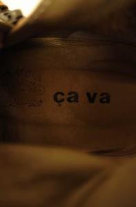 サヴァサヴァ cava cava ブーツ サイズ表記無 レディース 【中古】【ブランド古着バズストア】
