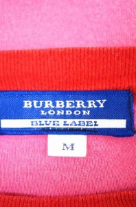 バーバリーブルーレーベル BURBERRY BLUE LABEL クルーネックTシャツ サイズM レディース 【中古】【ブランド古着バズストア】