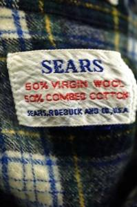 シアーズ Sears シャツ サイズ表記無 メンズ 【中古】【ブランド古着バズストア】