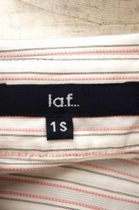 LAUTREAMONT la.f... (ロートレアモン) ストライプ柄ボタンシャツ サイズ[1S] レディース シャツ 【中古】【ブランド古着バズストア】【1
