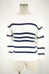 セントジェームス SAINT JAMES ボートネックTシャツ サイズ3 1/2 メンズ 【中古】【ブランド古着バズストア】