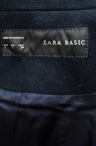 ZARA BASIC(ザラベーシック) - サイズ[L] レディース チェスターコート 【中古】【ブランド古着バズストア】【211017】