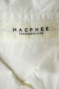 MACPHEE(マカフィー) ワイドスリーブ サイズ[36] レディース シャツ・ブラウス 【中古】【ブランド古着バズストア】【041117】