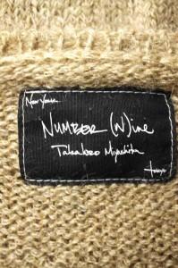 NUMBER (N)INE(ナンバーナイン) モヘヤ混グランジ サイズ[3] メンズ ニット・セーター 【中古】【ブランド古着バズストア】【241017】