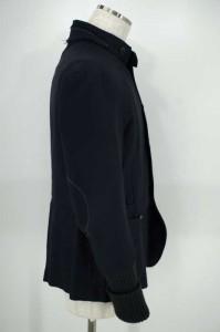 Gian Carlo Rossi (ジャンカルロロッシ) エルボーパッチ リブ サイズ[48] メンズ スタンドカラージャケット 【中古】【ブランド古着バ