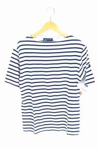 セントジェームス SAINT JAMES ボートネックTシャツ サイズUS:40 メンズ 【中古】【ブランド古着バズストア】