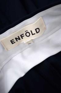 エンフォルド ENFOLD ワイドパンツ サイズ38 レディース 【中古】【ブランド古着バズストア】